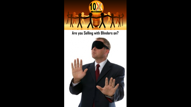"Episode 07 – ""Are You Selling with Blinders On?"" with Special Guest Coach Chuck Hammond"